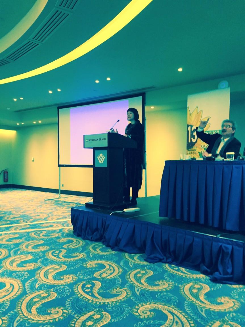 Χαιρετισμός στο 13ο Τακτικό Συνέδριο των ΟικολόγωνΠράσινων