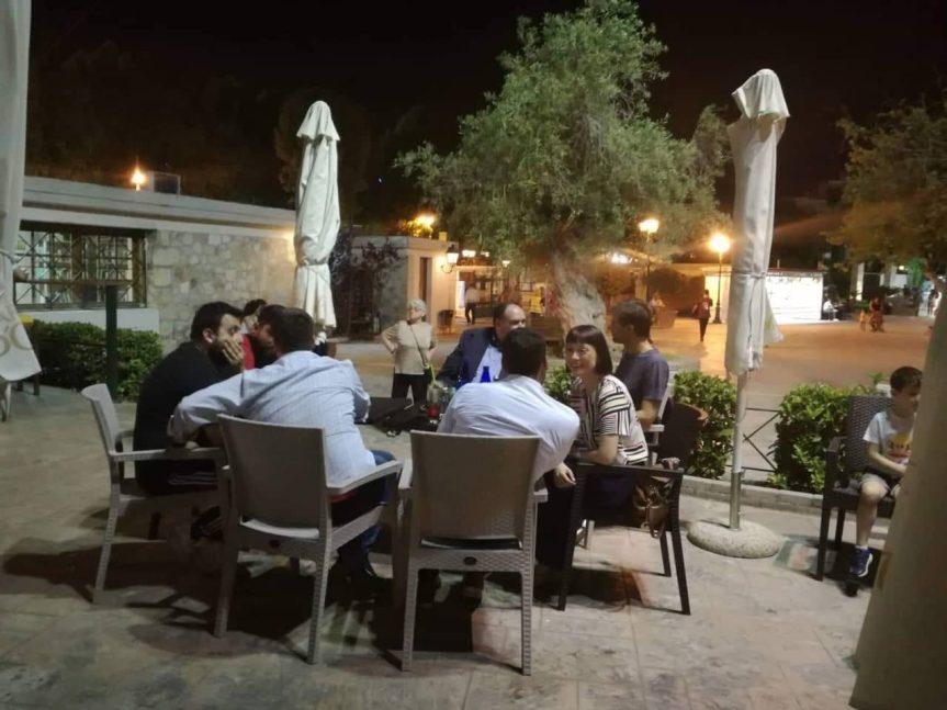 Συνάντηση μελών του Κινήματος Αλλαγής στο ΚΥΒΕ Περιστερίου 2
